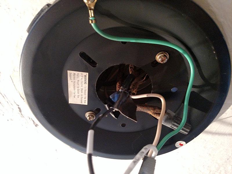 ceiling box wiring